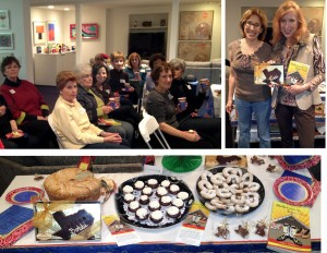 Temple Sinai Rosh Chodesh Book Party Hosted by Jane Cohen